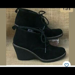 White mountain Womens 7 lambert booties shoes
